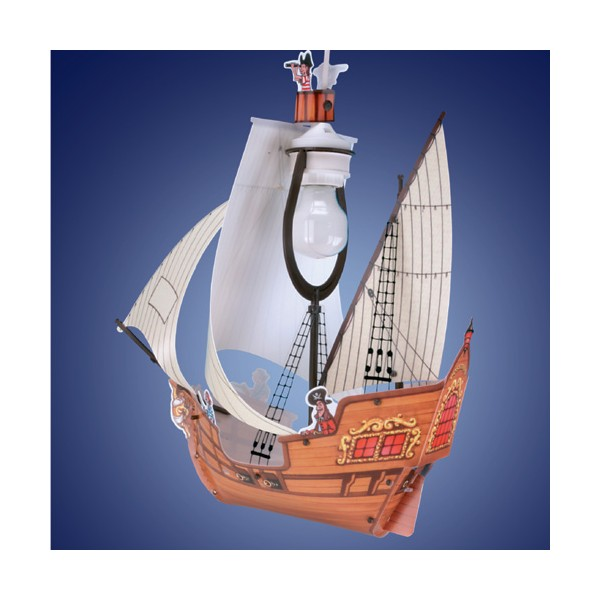 Suspension enfant voilier pirate lineazero sur luminaire discount - Luminaire design discount ...