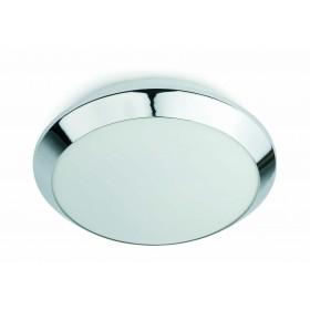 Plafonnier salle de bain CLEAN - IP44 - Ø30cm- verre - Faro