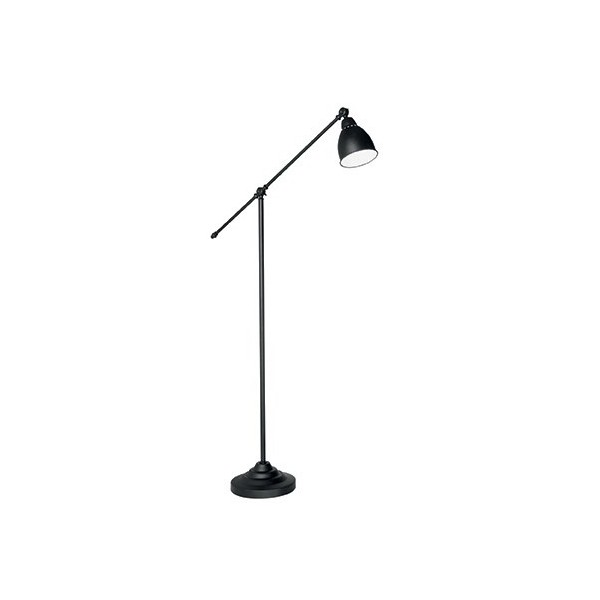 lampadaire design spot coloris noir toulouse 2327 news. Black Bedroom Furniture Sets. Home Design Ideas