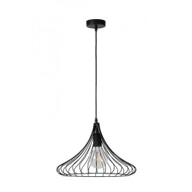 Suspension VINTI noire - D39,5cm- Lucide