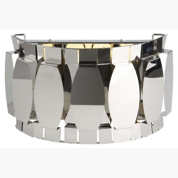 Applique CLIFTON - metal chrome - L33cm - Brilliant