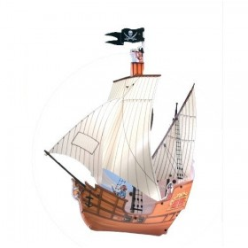 VOILIER PIRATE Suspension enfant - Lineazero