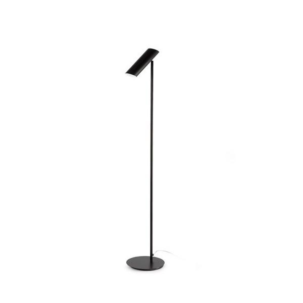 Lampadaire LINK - H110cm - acier blanc ou noir - Faro