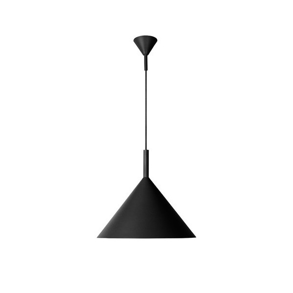 Suspension CHAPEAU - Ø45cm - alu - Lucide