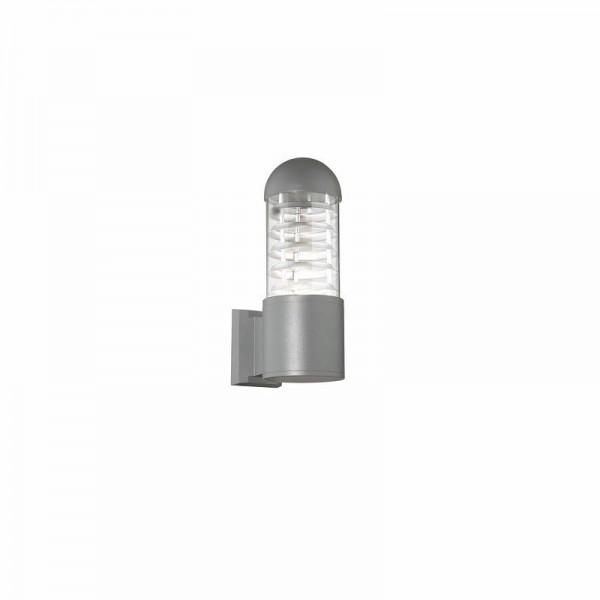 Applique exterieur POLARE - H30cm - IP54 - alu et verre - Ideal-Lux