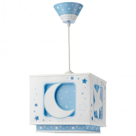 MOON Suspension enfant - bleu- Dalber