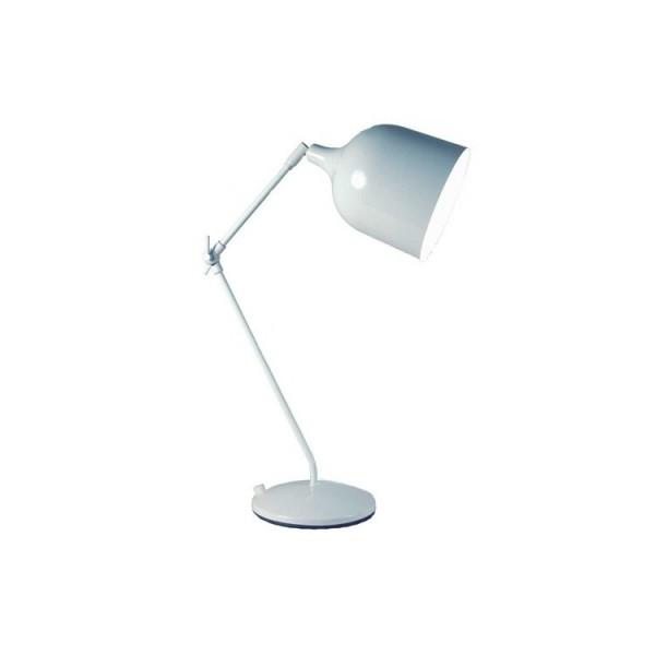 Lampe MEKANO - blanc - métal - Aluminor