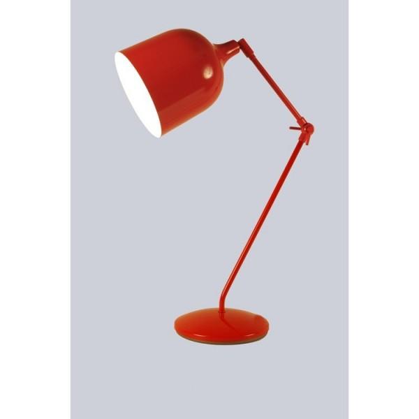 Lampe MEKANO- rouge - métal - Aluminor