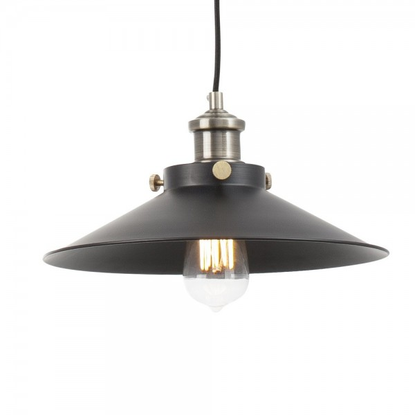 Suspension MARLIN - noir - Ø35cm - métal - Faro