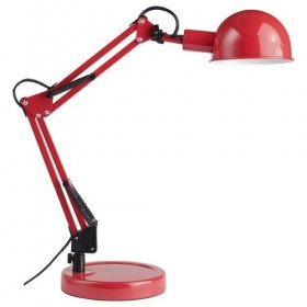 FELICIO - Lampe de bureau - Briliant - rouge