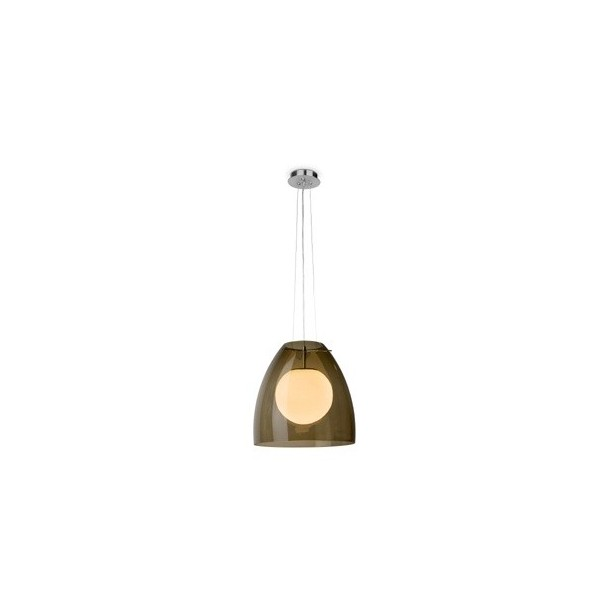 Suspension LUCA - Ø34cm - verre - Faro
