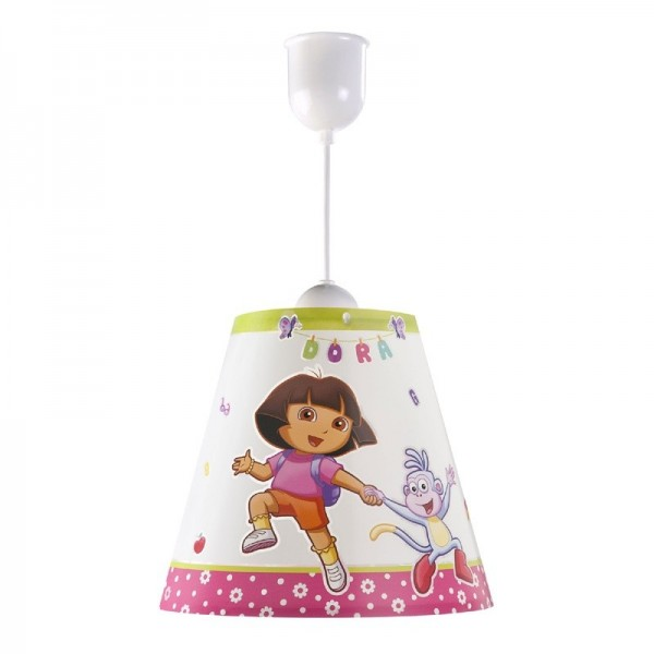 Suspension enfant -DORA L'exploratrice -conique Ø26cm -Dalber