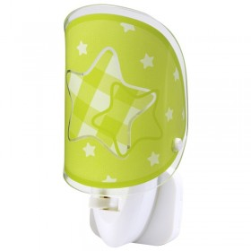 Veilleuse en verre LED - STARS  - Dalber