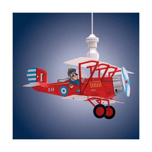 affordable suspension enfant avion biplane lineazero with lustre enfant avion. Black Bedroom Furniture Sets. Home Design Ideas
