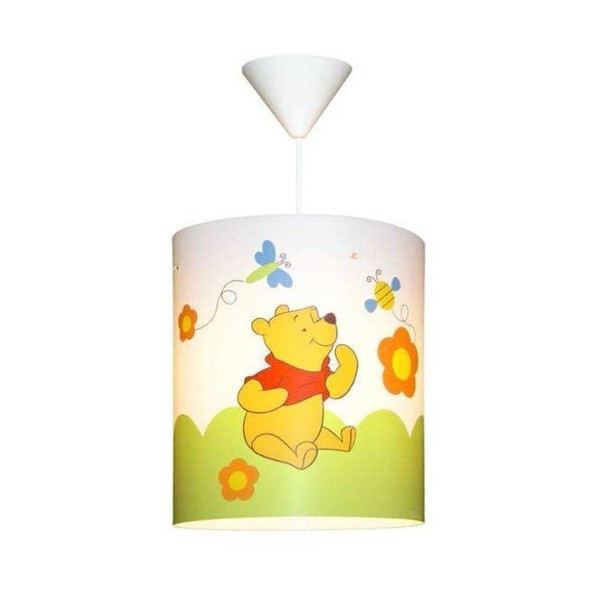 Suspension enfant WINNIE L'OURSON - Ø27cm - PVC - Lineazero