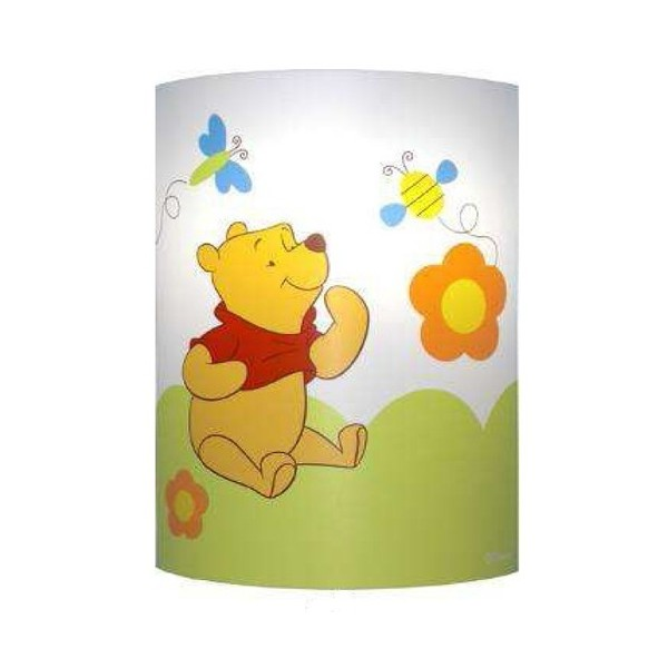 Applique enfant WINNIE L'OURSON - L22 cm - PVC - Lineazero