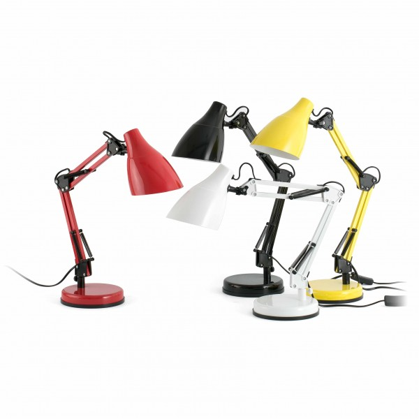 Lampe de bureau GRU - H50cm - métal laqué - Faro