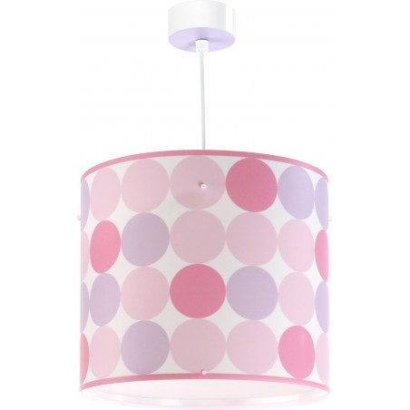 Suspension enfant COLORS - rose - Dalber sur Luminaire Discount