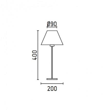 Lampe NIDIA de la marque FARO sur Luminaire Discount