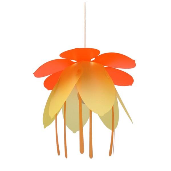 suspension enfant fleur orange rmcoudert luminaire discount. Black Bedroom Furniture Sets. Home Design Ideas