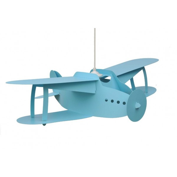 suspension enfant avion turquoise rmcoudert luminaire discount. Black Bedroom Furniture Sets. Home Design Ideas