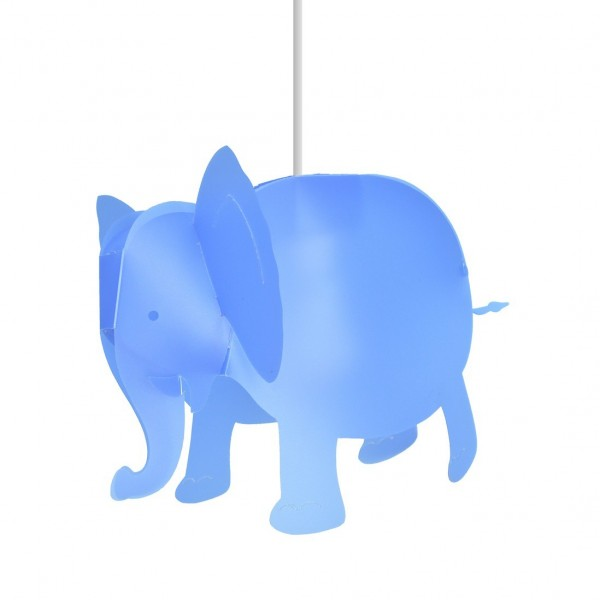 Suspension enfant ELEPHANT - bleu - priplak - RM Coudert