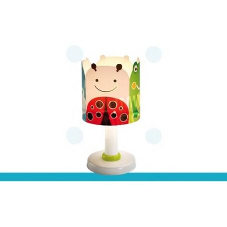 Lampe enfant BIG FRIENDS - H29cm - PVC - Dalber