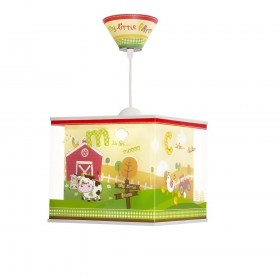 Suspension enfant MY LITTLE FARM - H22cm - PVC - Dalber