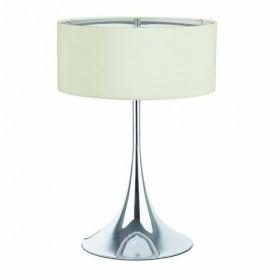 Lampe SIXTI - H51cm - Tissu et chrome - Faro