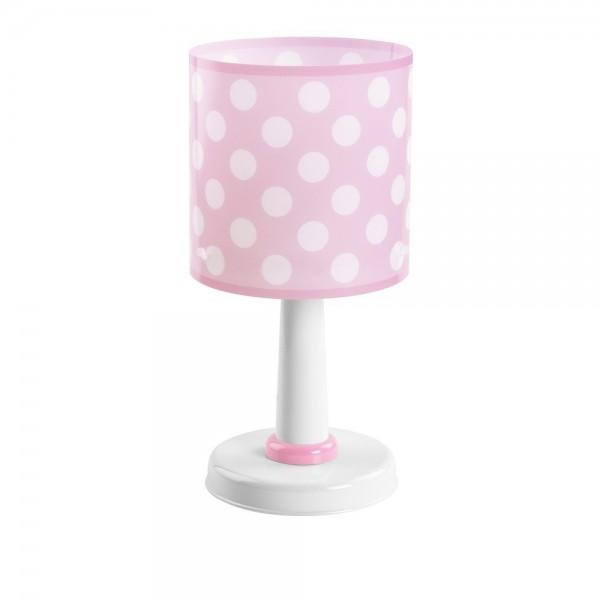 Lampe enfant DOTS - H29cm - rose - Dalber