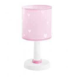 Lampe enfant SWEET DREAMS - rose - H29cm - PVC - Dalber