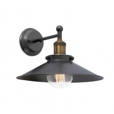 Applique MARLIN - métal noir - Faro