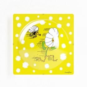 Plafonnier enfant MARGUERITE - L40cm - PVC - Lineazero