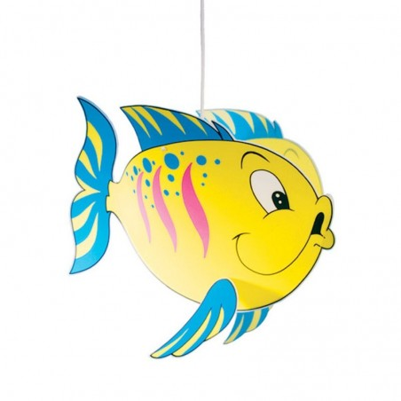 Suspension enfant POISSON - L45 cm - PVC- Lineazero