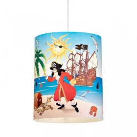Suspension enfant PIRATE - Ø27cm - PVC - Lineazero