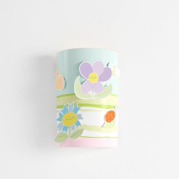 applique enfant pas cher fleurs lineazero luminaire discount. Black Bedroom Furniture Sets. Home Design Ideas