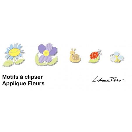 Applique enfant FLEURS - PVC - Lineazero