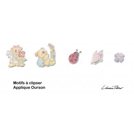 Applique enfant OURSON - PVC - Lineazero