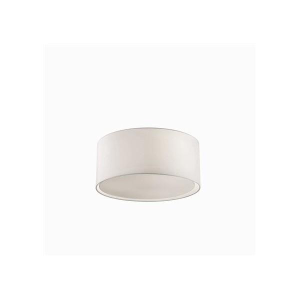 Plafonnier WHEEL - tissu - Ø42cm - Ideal-Lux