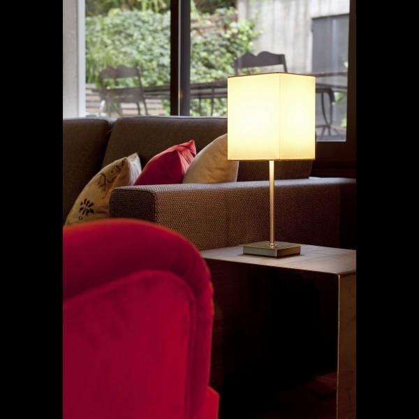 Lampe THANA - Ø12cm H43cm - Tissu - Faro