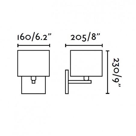 Applique THANA - L20cm - Tissu - Faro