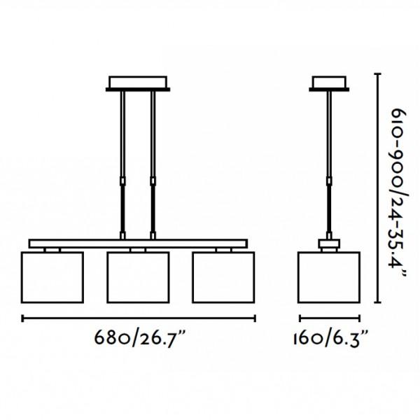 suspension thana faro sur luminaire discount. Black Bedroom Furniture Sets. Home Design Ideas