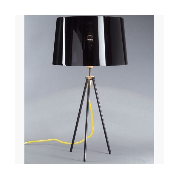 Lampe TROPIC - H60 cm - noir ou chrome - Aluminor