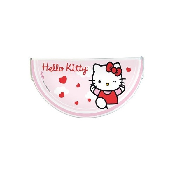 Applique enfant HELLO KITTY - verre blanc - L32cm - Dalber