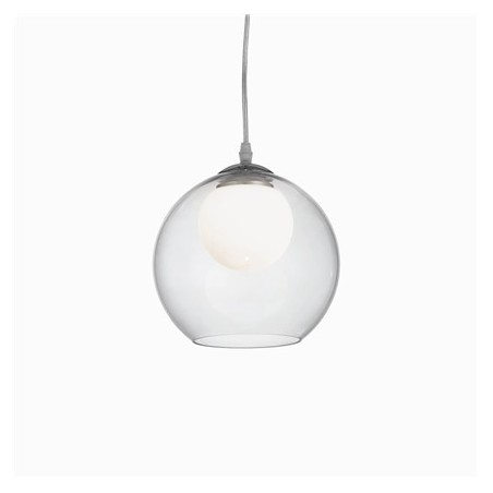 Suspension NEMO CLEAR - Ø20cm - Ideal-Lux