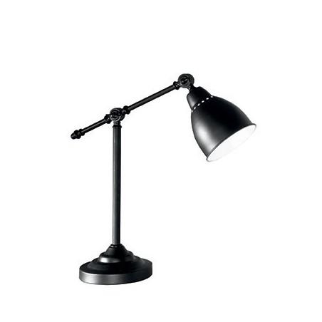 Lampe NEWTON - noir - H55cm - Ideal-Lux