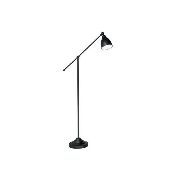 Lampadaire NEWTON - noir - H150cm - Ideal-Lux