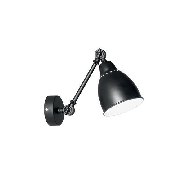 Applique NEWTON - noir - Ø30cm - Ideal-Lux