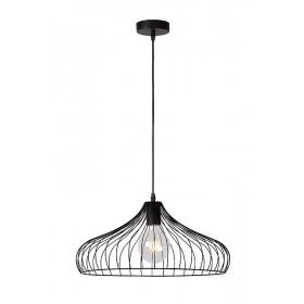Suspension VINTI - noir - Ø44cm - Lucide