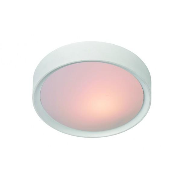 Plafonnier LEX - blanc - Ø33cm- Lucide